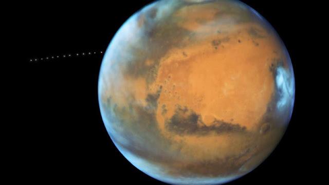 Air Hilang Dari Mars Way Lebih Cepat Dari Pada Pemikiran Sebelumnya