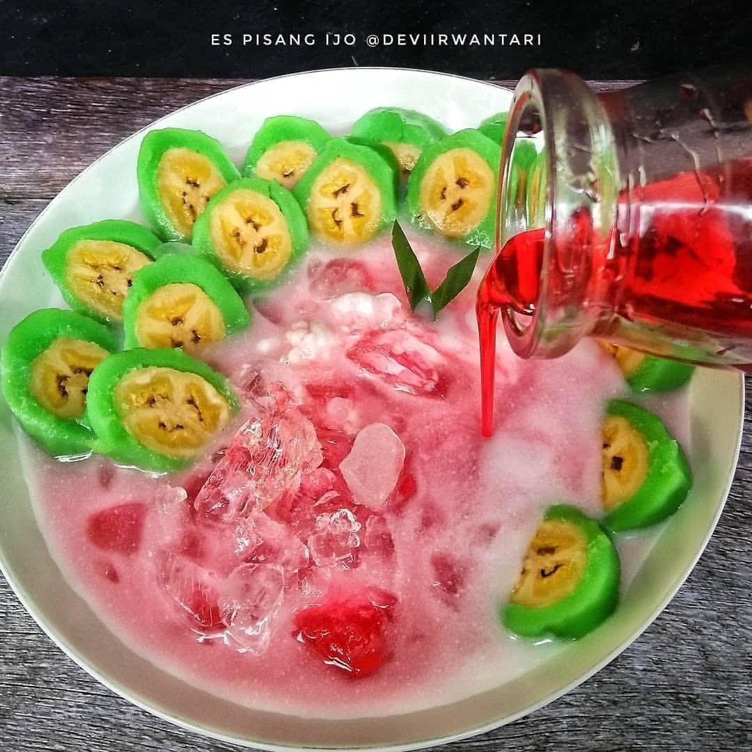 Assalamu'alaikum . Aku pernah posting resep pisang ijo, kali ini aku share resep...