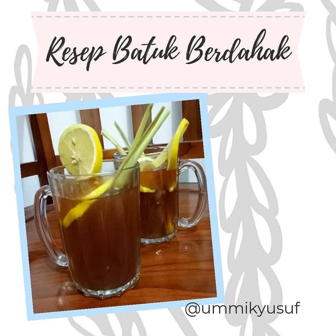 #EzRepost @ummikyusuf with @repostigapp  Resep Batuk Berlendir / Batuk Berdahak ...