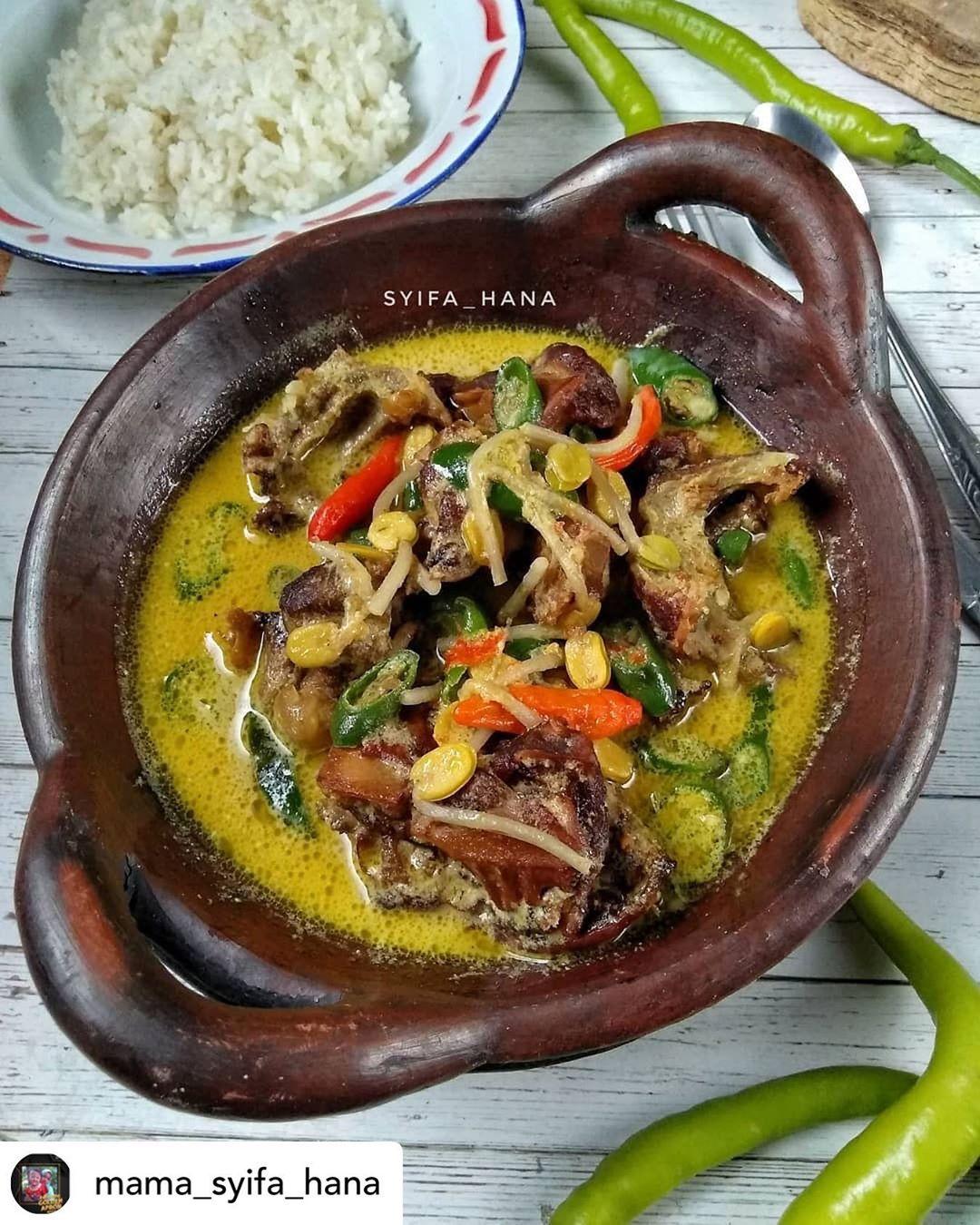 Posted @withregram • @mama_syifa_hana Assalamualaikum semuanya... Hari ini masak...