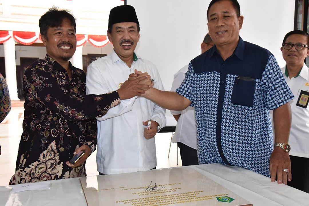 Wakil Bupati Resmikan Hasil Pembangunan Progr...