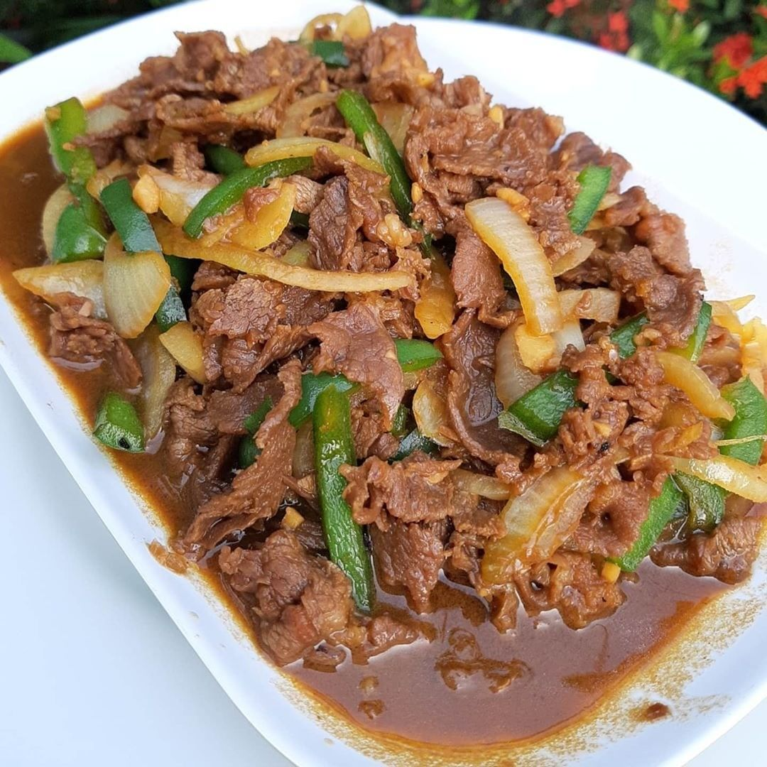 BEEF TERIYAKI . By @linasutiono . Bahan : 400 gr daging sapi has dlm, iris ...