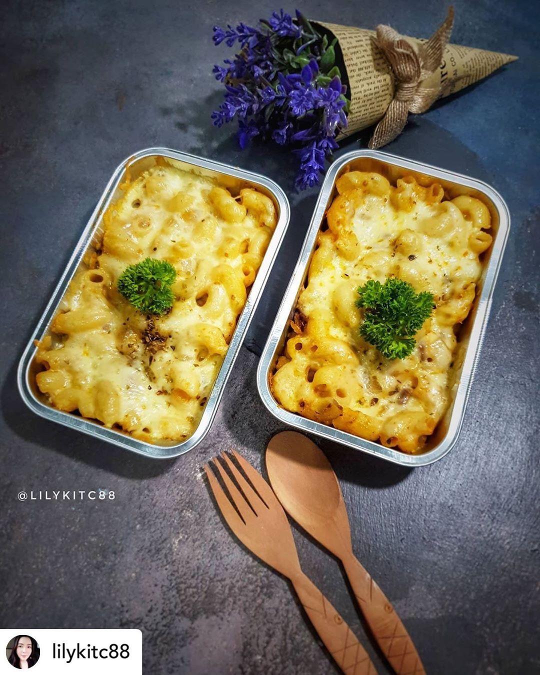 Posted @withregram • @lilykitc88  Macaroni Cheese  Bahan :  200 gr macaroni rebu...