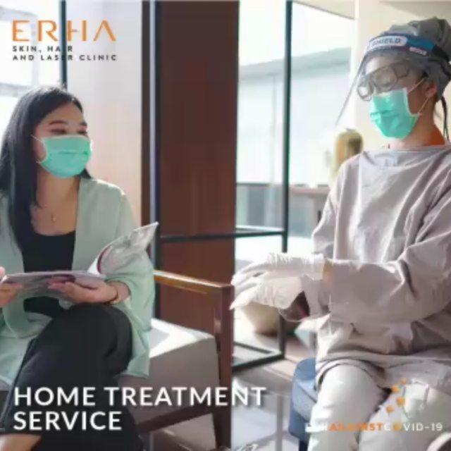Halo Warga Sidoarjo! . Kini HOME TREATMENT SERVICE telah hadir di Erha Skin Sidoarjo! . Karen...