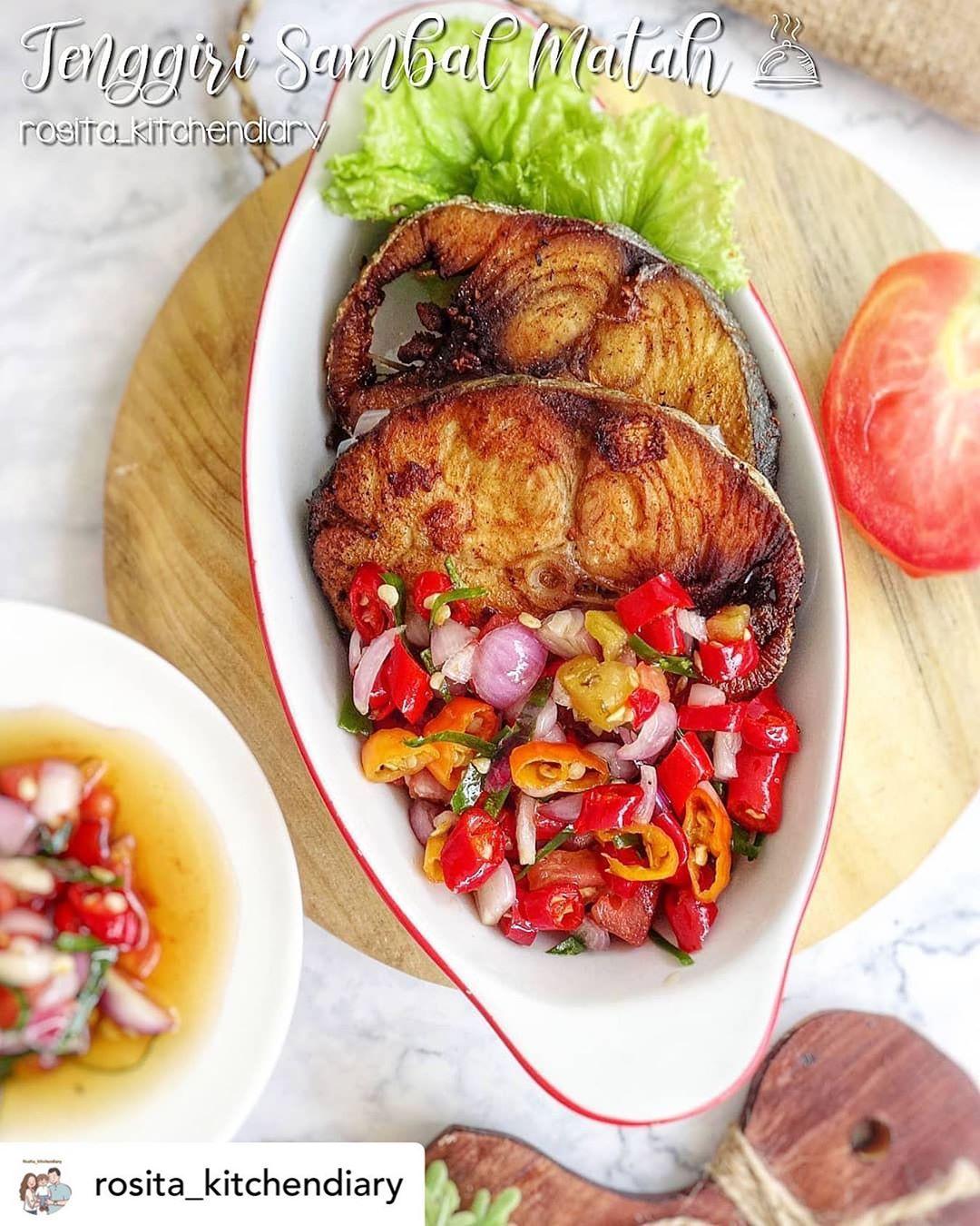 Posted @withregram • @rosita_kitchendiary #DiRumahAja tetap produktif di dapur. ...