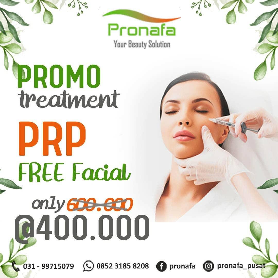 "*Promo Lebaran* ""Pronafa Skin Clinic"" . Happy Eid , Pronafa Skin Clinic menawarkan *PROMO* Tre..."