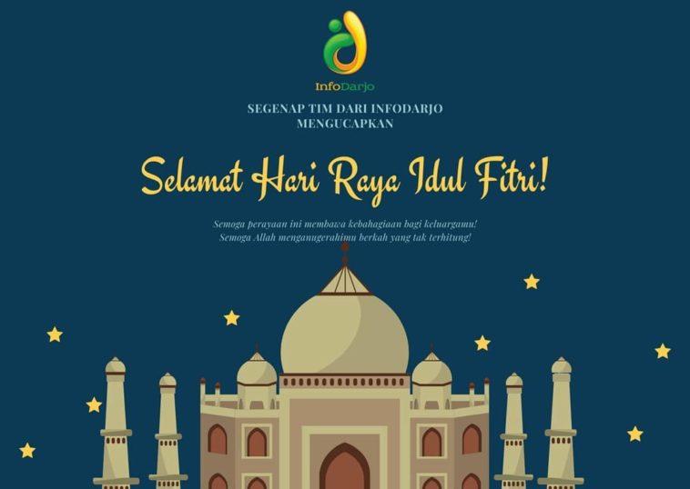 Segenap TIM dari @infodarjo mengucapkan Selamat Hari Raya Idul Fitri 1441 H. Minal aidin wal fa...