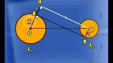Garis Singgung Persekutuan Dalam Dua Lingkaran - Metematika SMP