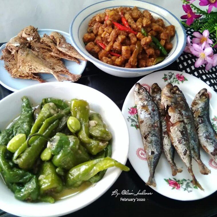 .  Assalamualaikum Selamat makan siang... . . ASE CABE IJO PETE By.@lisna_lisnaw...
