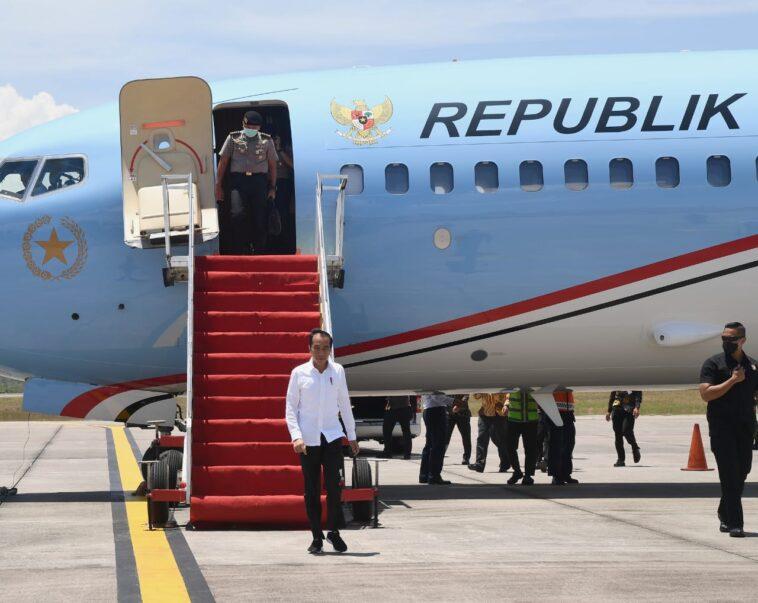 Presiden Tinjau Posko Penanganan Covid-19 dan Proyek Padat Karya di Jawa Tengah