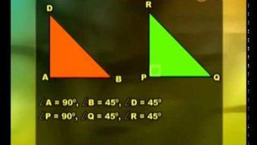 Dua Segitiga Kongruen - Metematika SMP