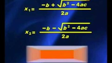 Mencari Akar Persamaan Kuadrat Dengan Rumus ABC - Metematika SMP