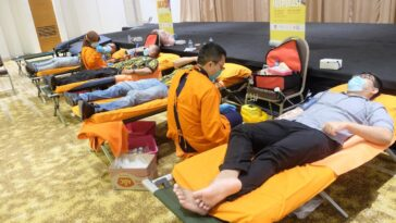 Angkatan Muda Partai Golkar Gelar Donor Darah, Targetkan 1.000 Pendonor