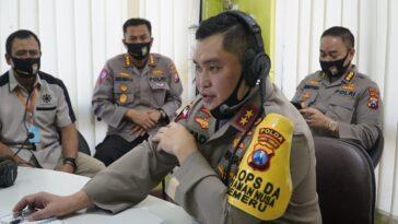 Kapolda Jatim Berkantor di Polsek Memantau Tindak Lanjut Kampung Tangguh Semeru