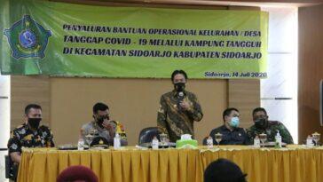 *Ketua Gugus Tugas Covid -19 Nur Ahmad Syaifu...