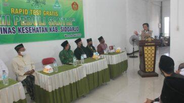 Pemkab Sidoarjo bersama RMI MWC NU Waru Rapid...