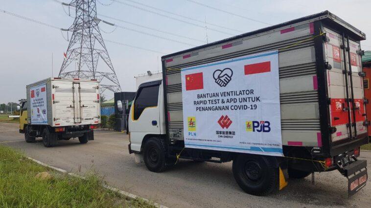 Penanganan Covid-19, PT PJB dan China Energy Donasikan Alat Medis