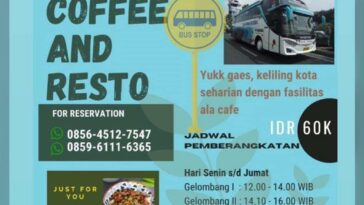 Pengen nongkrong dengan suasana berbeda? Langsung aja cobain nongkrong di Jetbus Coffee and Res...