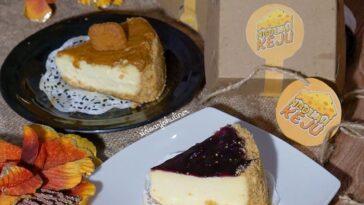 Suka makan dessert? Ini rekomendasi minjo! Cheesecake original Lotus biscoff 30k Minjo cinta ba...