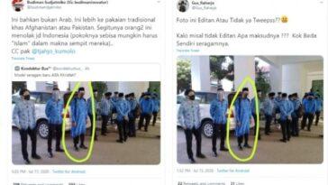 Viral Foto ASN Berbaju Korpri Panjang, Politisi PDI Perjuangan Buka Suara (Twitter)