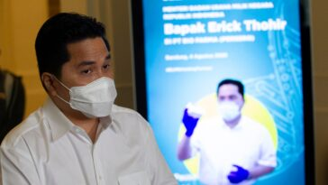 Erick Thohir: Bio Farma Siap Produksi 250 Juta Dosis Vaksin Covid-19 Per Tahun