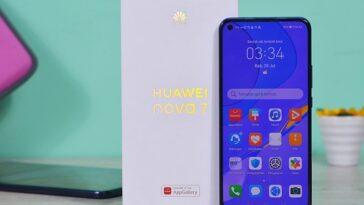 Huawei Nova 7a