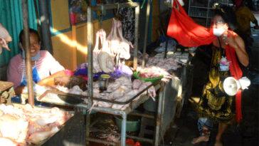 Ingatkan Pakai Masker, Besok Rusmini Besut Keliling Pasar Soponyono