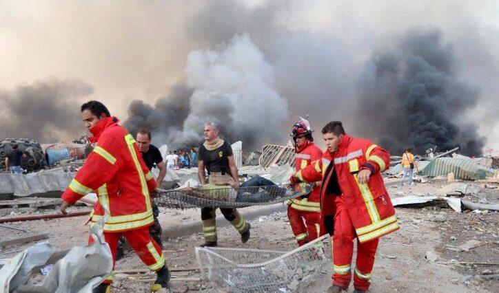 Korban Tewas Ledakan di Beirut Sudah Capai 100 Orang