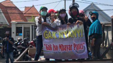 Massa Aliansi Pekerja Seni Surabaya Akan Berunjuk Rasa di Balai Kota
